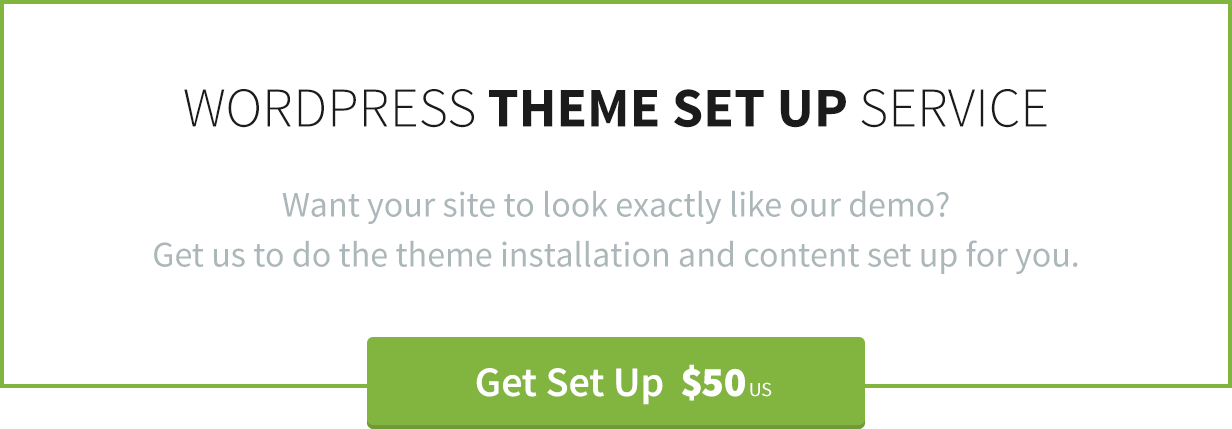 WordPress Theme Instalation by Theme Canon